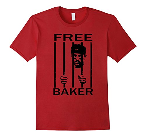 Mens Free Baker Mayfield Oklahoma Shirt Medium Cranberry