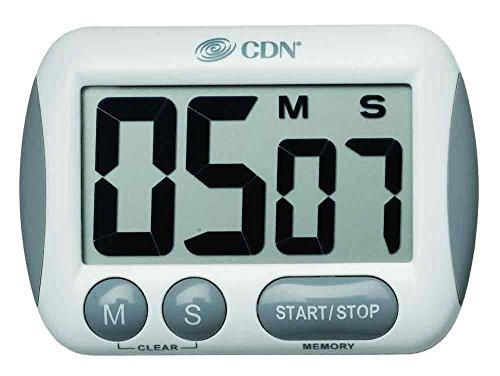 CDN TM15 Extra Large Big Digit Timer (Pack of 2)