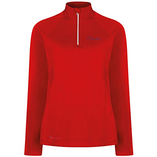 Dare 2b Womens/Ladies Involve Core Stretch Half Zip Softshell Jacket Trail Blaze