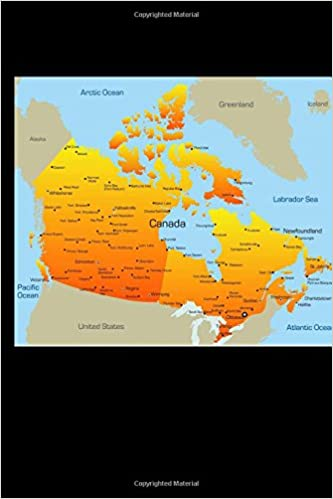 Buy Map Of Canada.Buy Map Of Canada Journal Book Online At Low Prices In India Map