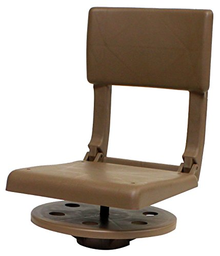padded swivel bucket seat - 1