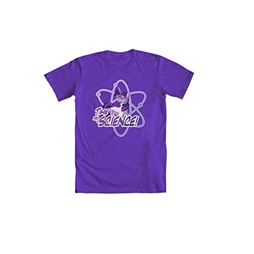 My Little Pony Time For Science Adult Purple T-Shirt (Adult X-Large) (Brony My Little Pony Shirt)
