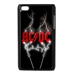 Customized Hard Back Phone Case for Ipod Touch 4 Cover Case - ACDC HX-MI-032807