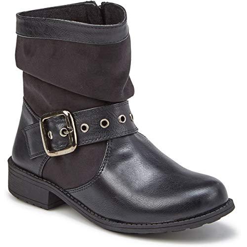 Rachel Shoes Girls' Parker Boots Black 13