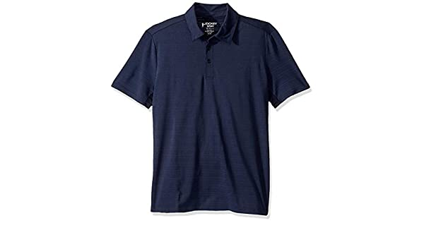 Jockey Mens Active Breathable Quick Dry Polo Shirt, Navy HEATHER ...