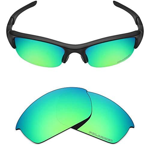 Mryok+ Polarized Replacement Lenses for Oakley Flak Jacket - Emerald ()