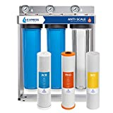 Express Water Whole House Water Filter - 3 Stage Anti Scale Home Water Filtration System -...