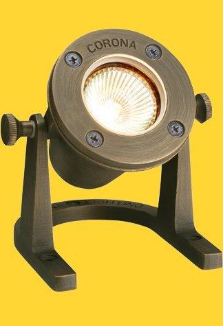 Corona Lighting CL-307-AB Underwater Light in Antique Bronze w/ Lamp 3-1/4