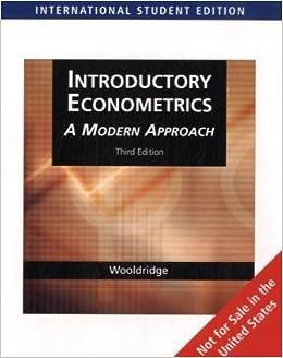Ebook introductory download wooldridge econometrics