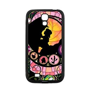 Fayruz- Personalized Beauty and the Beast Protective Cover Hard Textured Rubber Phone Case for Samsung Galaxy S4 i9500 G-S4H558