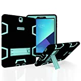 Samsung Galaxy Tab S3 9.7 Case, Beimu 3in1 Combo Hybrid Heavy Duty Armor Full-body Holster Rugged Defender Scratch Resistant Protective Kickstand Case for Samsung Galaxy Tab S3 9.7