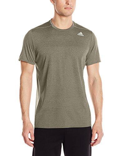 adidas Men's Running Supernova Short Sleeve Tee, Trace Cargo, XX-Large
