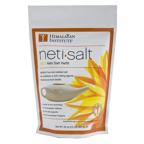 Himalayan Institute Neti Pot Salt Bag - 1.5 lbs - Pack of 2