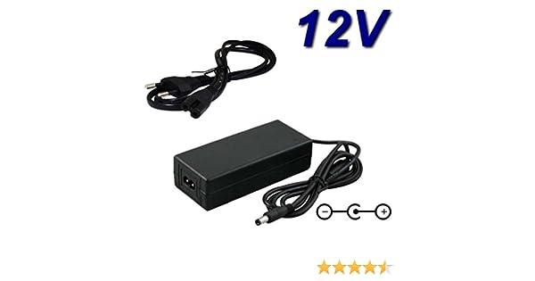 TOP CHARGEUR * Adaptador Alimentación Cargador Corriente 12V Reemplazo Recambio Televisor TV Oki L22IA-PHDTUV 21.5