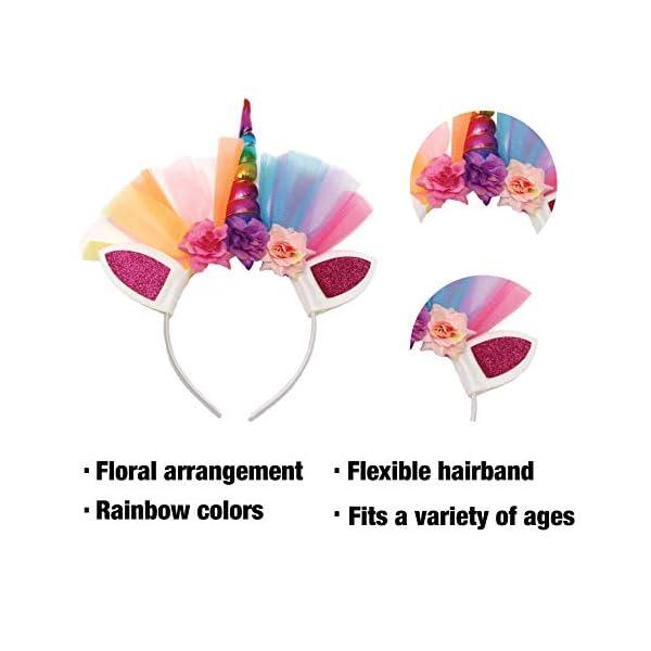 Little Jupiter Premium Girls Rainbow Unicorn Tutu Set 4PC Layered Dress for Age 2-8 Years Costume Unicorn Party 8