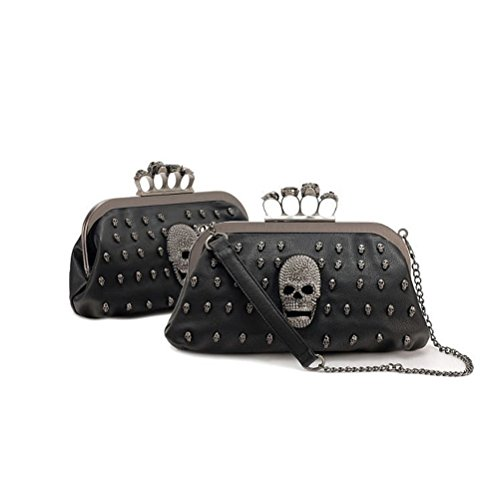 Tinksky Womens Cool Skull Handbag