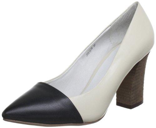 Giudecca Mawes JYS1319 - Zapatos de protección de cuero para mujer Beige (Beige (Beige/black))