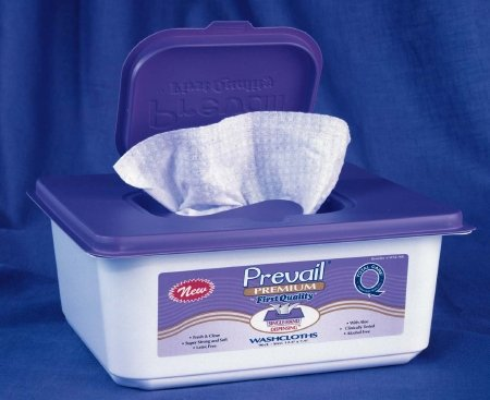 Prevail Premium Washcloths 96ct Tub (Case of 6)