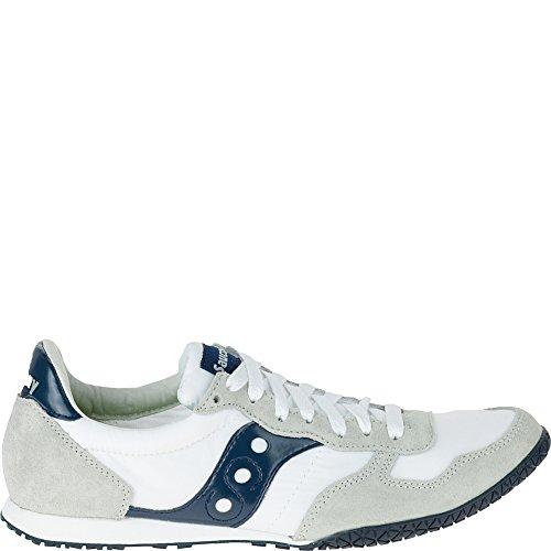 Saucony Originals Men's Bullet Classic Sneaker,White/Navy,10 M - Saucony Classic Shoes