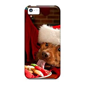 Iphone 5c Cases, Premium Protective Cases With Awesome Look - Christmas And Happy New Year Adorable Friends