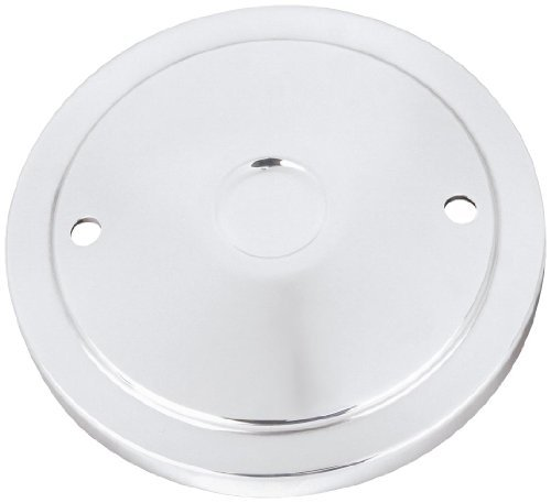 S&S Cycle Muscle Chrome Cover for Stealth Air Cleaner ()