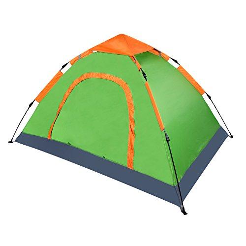 Vihir 3 Season 2 Person Backpacking Tents for Camping Hiking, Green