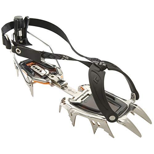 Black Diamond Sabretooth Clip Crampons - One Size - Polished