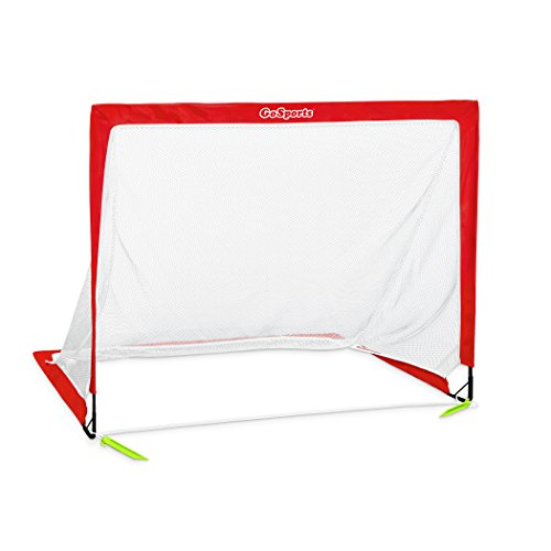 GoSports Premier Soccer Goals – Top Quality US Soccer Brand – Designed for All Ages – Available in four' and 6′ Sizes – DiZiSports Store