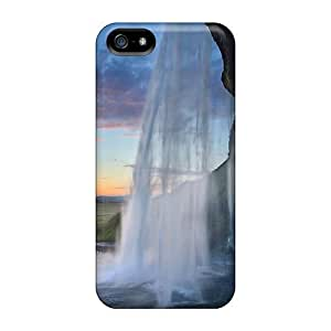 Hot YSEfn3317vJKuW Case Cover Protector For Iphone 5/5s- Waterfall Underneath