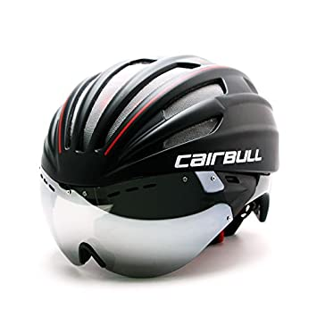 Casque de vélo Cairbull2017super léger 280g, casque de course cycliste avec lunettes de soleil, 4