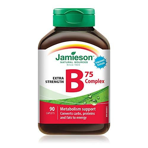 Jamieson B Complex 75 mg, 90 caplets
