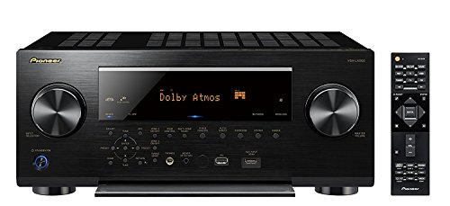 Pioneer VSX-LX503 9.2 Channel 4k UltraHD Network A/V Receiver Black (Best 9.1 Av Receiver)