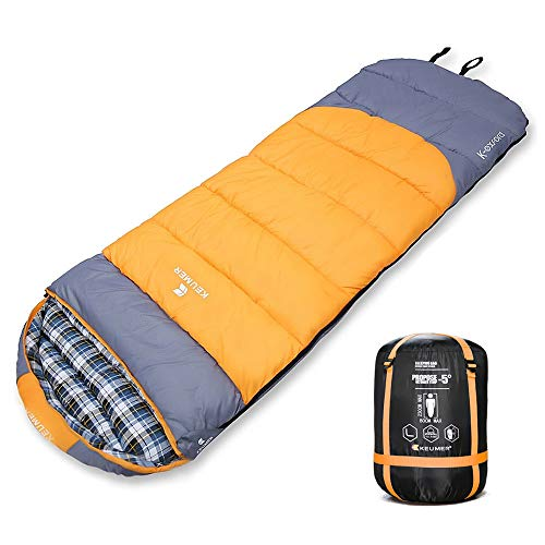 5d009ac9382c ZOMAKE Sleeping Bag (40 Degree) for Backpacking, Camping, Hiking - Cold  Weather Waterproof Sleeping Bag for Adults Or Kids. Truck, Tent, Or ...