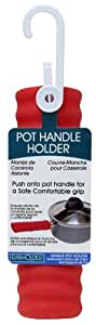 Evriholder Silicone Pot Handle Holder, Colors may vary