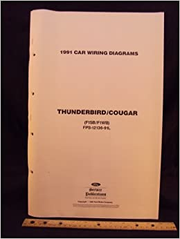 1991 Ford Thunderbird Mercury Cougar Electrical Wiring Diagrams Schematics Ford Motor Company Amazon Com Books