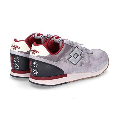 Lotto Mens Sneakers Grigio Scamosciato T840grey