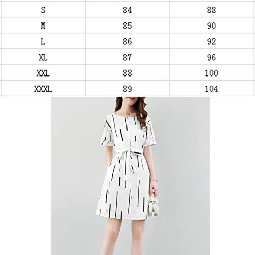 d1b61522904 Manches O cou Élégante Coréenne Femmes Femme À Slim Rayé Vêtements Casual  Fantasyworld D été Courtes Robe ...