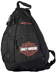 Harley-Davidson Bar & Shield Sling Backpack BP1957S-ORGBLK