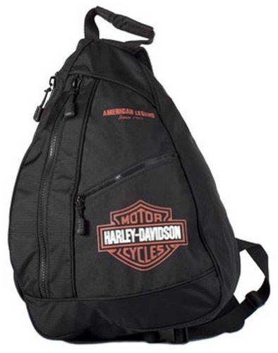 Harley-Davidson Bar Shield Sling Backpack BP1957S-ORGBLK