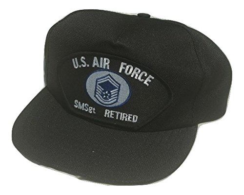 (HMC US Air Force Senior Master Sergeant Smsgt E-8 Adjustable Ball Cap)