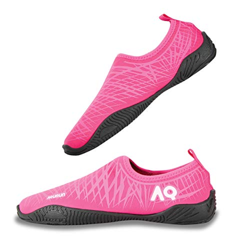 AQURUN Pink Swimming & Water Games Shoe For Girls
