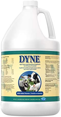 Dyne High Calorie Weight Gainer Liquid for Livestock, 1 Gallon