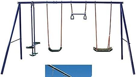 Balancín infantil jardín columpio balancín del andamio columpio infantil con balancín infantil: Amazon.es: Hogar