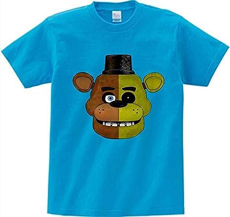 Amazon.com: Grocoto T-Shirts - Boys T Shirt Five Nights at Freddy Camisetas Summer FNAF Kids T-Shirt Children Clothing Freddys 2 Girl Clothes Cartoon Tops ...