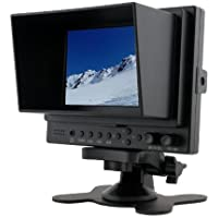 Professional LILLIPUT 5 569 / O Lilliput 569GL-50NP/HO/Y Color TFT LCD Monitor With HDMI, YPbPr, AV Input HDMI Output / With F-970 & QM91D Battery Plate + Mini Stand Base + Sun Shade Cover