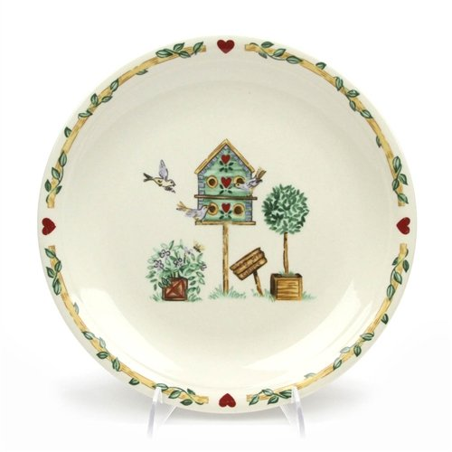 - Birdhouse by Thomson, Pottery Dinner Plate
