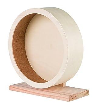 Rueda para hamsters y roedores TRIXIE de madera: Amazon.es: Productos para mascotas