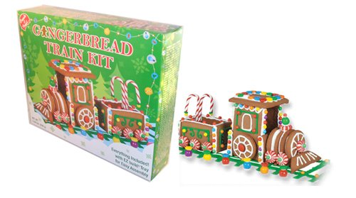 Create A Treat Create-a-Treat Gingerbread Ginger Bread Train Kit,1.83 LB