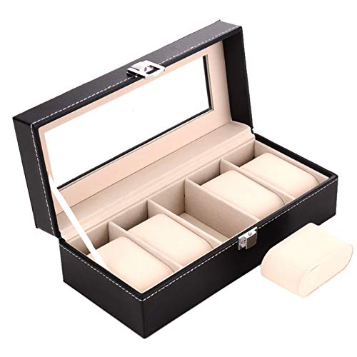 Amazon.com: 2019 New 5 Grids Handmade Watch Box Caja Reloj Clock Box Time Box Watch Case saat kutusu Horloge Box for Watch Holding