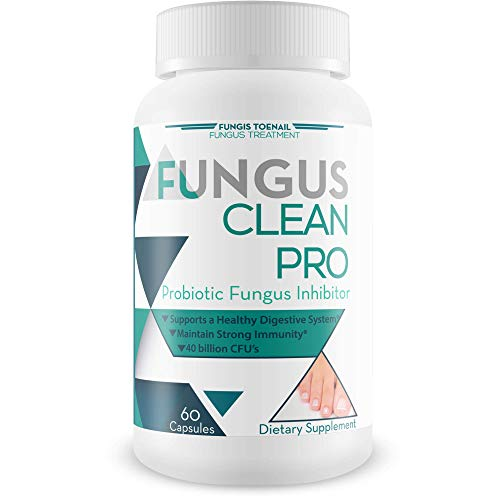 (Fungus Clean Pro - Probiotic Fungus Inhibitor - Fight Off Fungus from The Inside Out with This Powerful Anti-fungal probiotic Blend - by Fungis Toenail Fungus Treatment - Protect Your Body from Fungi)
